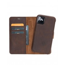 """Fredo iPhone 11 Pro 5.8 """"Exclusive"""" Leather Case (Vintage Brown)"""