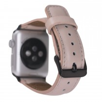 "Fredo Apple Leather Bracelet ""Classic"" (Series 1-6) (Nude Pink)"