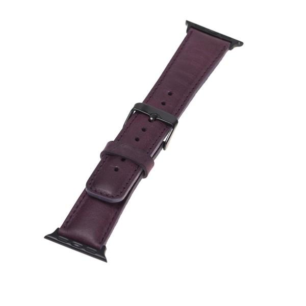 "Fredo Apple Leather Bracelet ""Classic"" (Series 1-6) (Purple)"