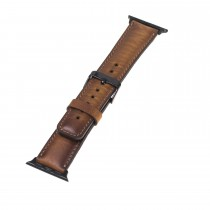 "Fredo Apple Leather Bracelet ""Classic"" (Series 1-6) (Cognac Brown)"