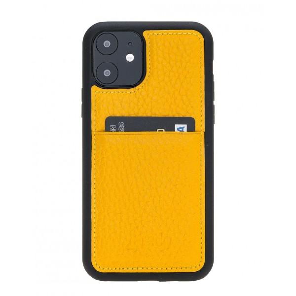 "Fredo iPhone 11 6.1 ""Leather Case"" Flex ""(Yellow)"