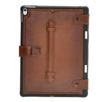 "Fredo iPad 10.5 AIR Sleeve Cases - ""DET"" - Cognac Brown"