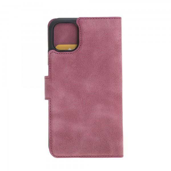 "Fredo iPhone 11 Pro 5.8 ""Leather Case"" Secret Wallet ""(Pink)"