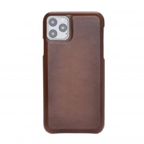 """Fredo iPhone 11 Pro Max 6.5 """"Exclusive"""" Leather Case (Cognac Brown)"""