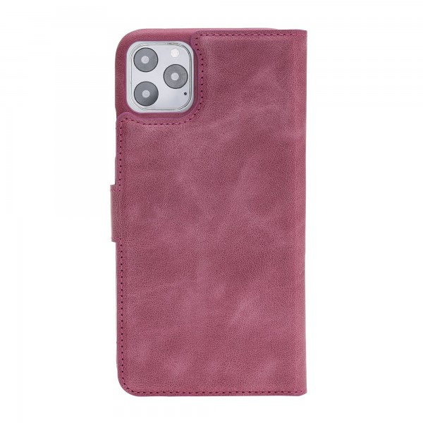 """Fredo iPhone 11 Pro Max 6.5 """"Exclusive"""" Leather Case (Pink)"""