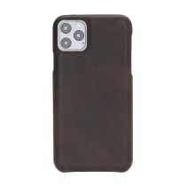 """Fredo iPhone 11 Pro Max 6.5 """"Exclusive"""" Leather Case (Vintage Brown)"""