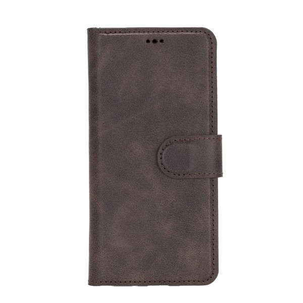 "Fredo Galaxy S20 | S20 5G Leather Case ""Secret Wallet"" (Vintage Brown)"