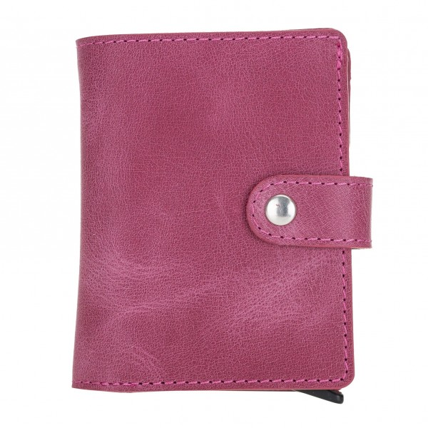 Fredo Card Case - Up To 15 Cards Wallet - Pink