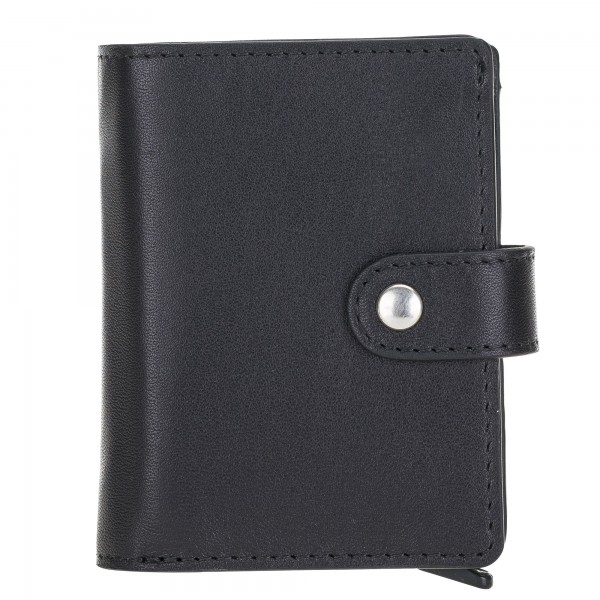 Fredo Card Case - Up To 15 Cards Wallet - Black