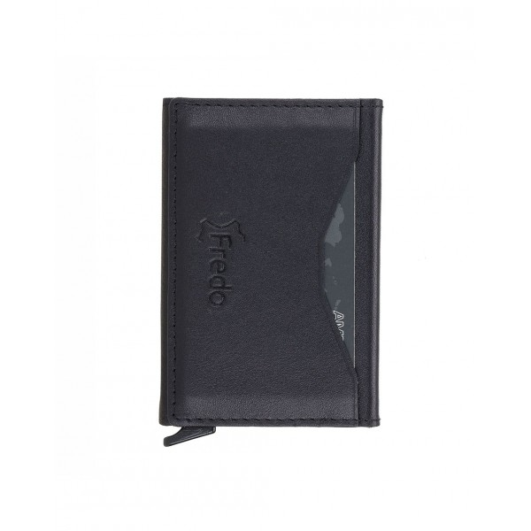 Fredo Card Case - Up To 10 Cards - Black