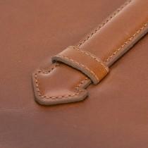 "Fredo Apple iPad Pro 12.9 ""- 2020 Detachable Leather Sleeve Siena"