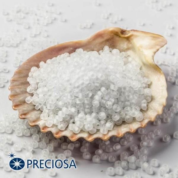 Preciosa Seed beads 33139/38302/10  White, 100 Gram