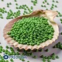 Preciosa Jewelry Making Round Seed Beads Size 10/0 100 Gram 3.5 Oz (Green)