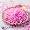 Preciosa Jewelry Making Round Seed Beads Size 10/0 100 Gram 3.5 Oz (Pink)