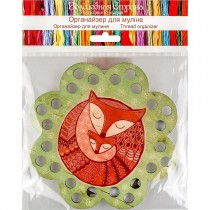 Lonjew Floss Holder with Sleeping Foxes LLZ-009(М-6)