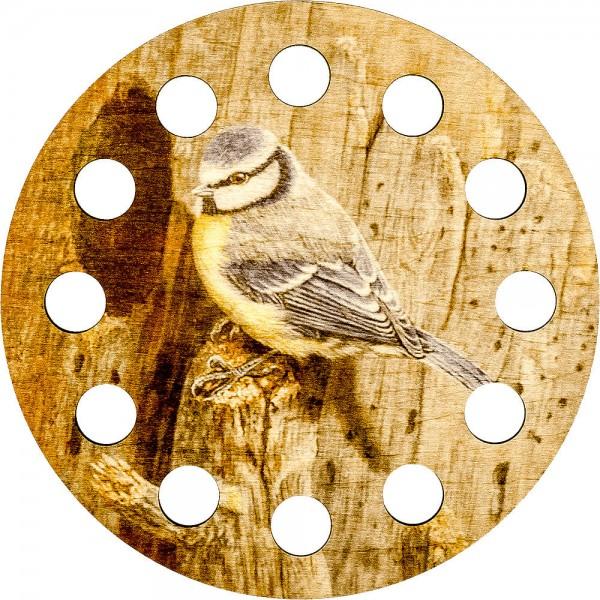 Lonjew Cross Stitch Thread Organizer with Bird Art Decor LLZ-001(М-1)