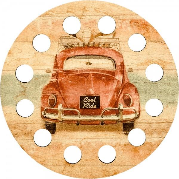 Lonjew Nostalgic Cute Car Art Decor Thread Organizer LLZ-001(М-3)