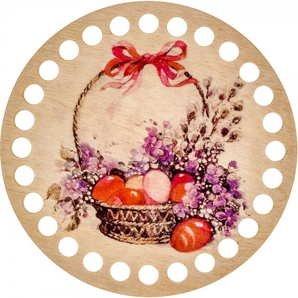 Lonjew Roll over image to zoom in A Basket-Themed Dyed Yarn Organizer Full of Bread LLZ-002(М-8)