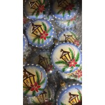 Lonjew Wholesale Handmade Glass Christmas Decoration