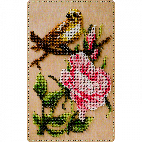 Lonjew Bird Pattern Cover Organizer for Beaded Embroidery LLZB-070
