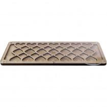 Lonjew Bead Organizer Storage Tray with Transparent Lid Mesopotamia LLZB-095