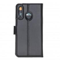 """Fredo Huawei P30 Leather Case """"Secret Wallet"""" (Black)"""