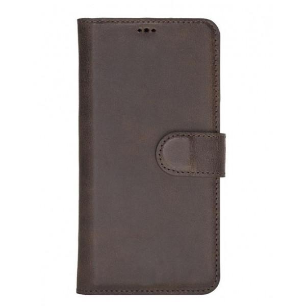 "Fredo Huawei P30 Leather Case ""Secret Wallet"" (Vintage Brown)"