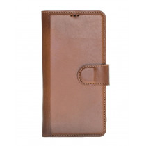 "Fredo Huawei P30 Pro Leather Case ""Secret Wallet"" (Cognac Brown)"