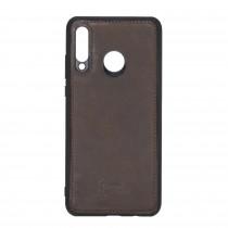 "Fredo Huawei P30 Lite Leather Case ""Secret Wallet"" (Vintage Brown)"