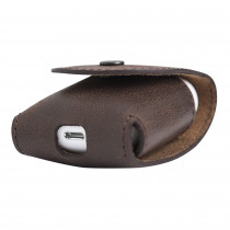 Fredo Airpods Slim Handmade Case Made Of Leather - Compatible With Apple AirPods Vintage Brown