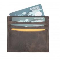 Fredo Urban Card Holder - Vintage Brown