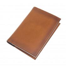 Fredo Passport Wallet - Cognac Brown