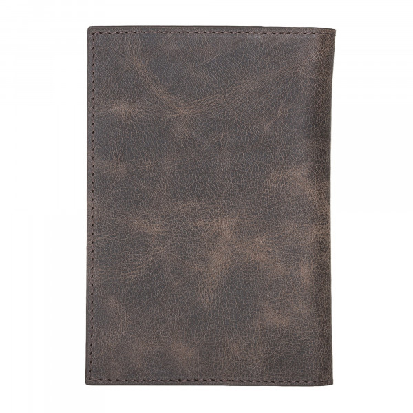 Fredo Passport Wallet - Vintage Brown