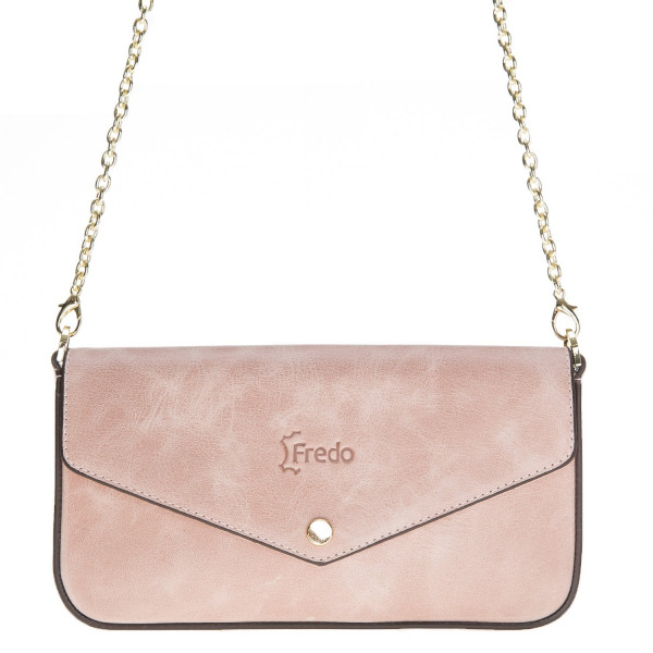 Fredo Women's Small Shoulder Bag - Nude Pink