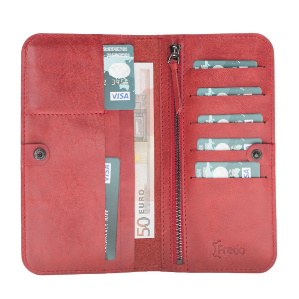 Fredo Women's Wallet - Red