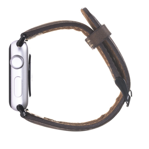 "Fredo Apple Leather Bracelet ""Classic"" (Series 1-6) (Vintage Brown)"