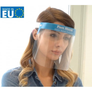 Fredo Face Shield Plexiglass - Plastic Visor - Made In The EU