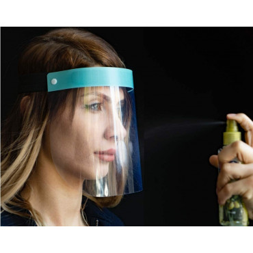 Fredo Karen face shield plexiglass - plastic visor - Face Shield - Clear face shield Made in Europe
