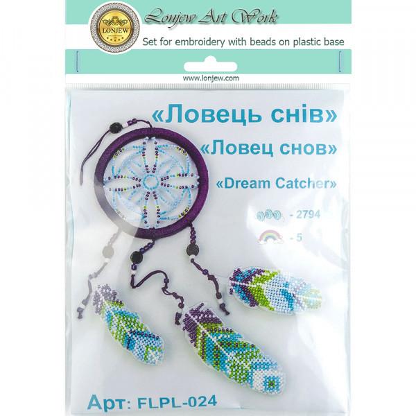Lonjew Bead Embroidery Kit aOn A Plastic Base LLPL-024