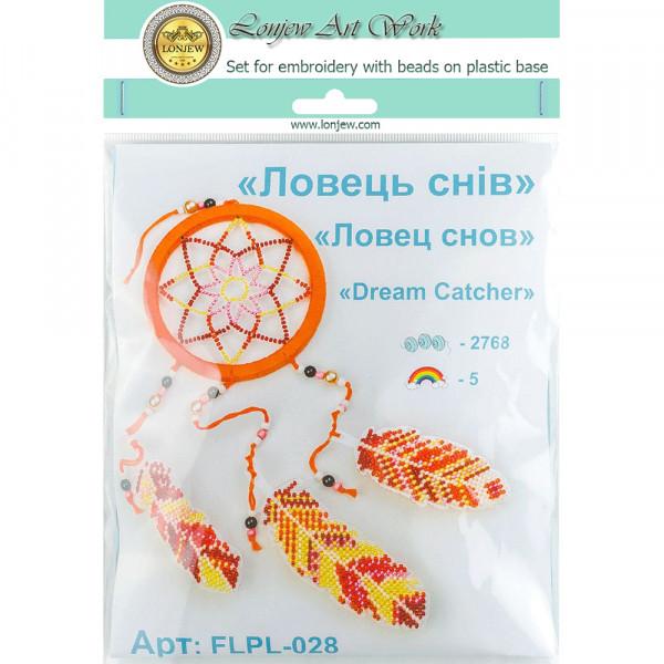 Lonjew Bead Embroidery Kit On A Plastic Base LLPL-028