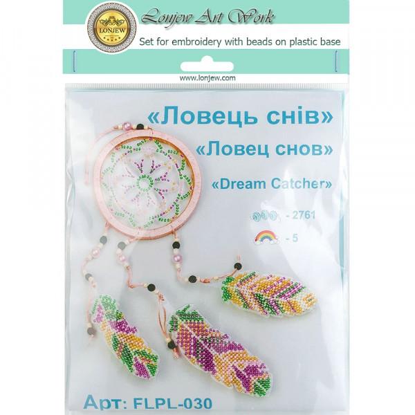 Lonjew Bead Embroidery Kit On A Plastic Base LLPL-030