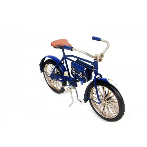 Decorative Metal Bicycle Bag-Dark Blue